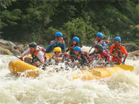 Whitewater Rafting on the Chico River, Philippines