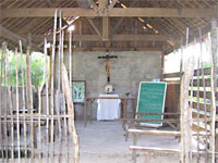 Small chapel on Ticao island, Philippines