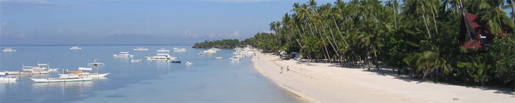 Alona Beach, Bohol