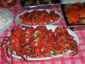 Fresh seafood, Philippines
