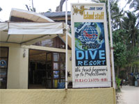 Diving Holidays to Boracay in the Philippines, where you will find many Dive Shops and diving specialists