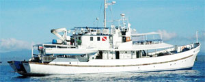 M V Resolute Philippines Liveaboard Cruises from Philippine Trails