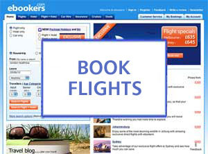 Book Flights with eBookers