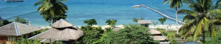 Book a holiday or Vacation at Samal Island, Davao, in the Philippines