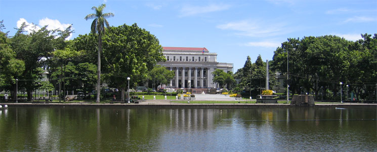Capitol Park and Lagoon, Bacolod, Negros Occidental, Philippines