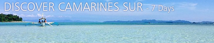 Discover Camarines Sur - 7 Days