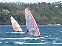 Windsurfing in the Philippines