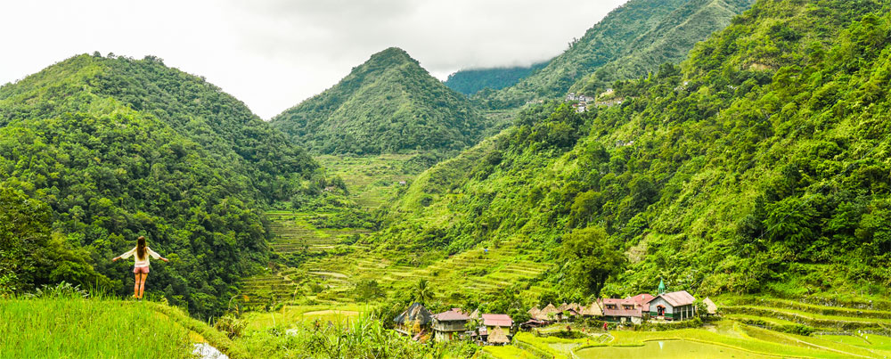 Trekking in the Philippines Rice Terraces