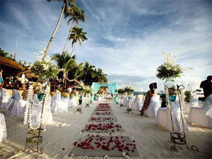 A wedding at Seawind, Boracay, Philippines