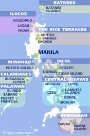 Popular Areas of the Philippines